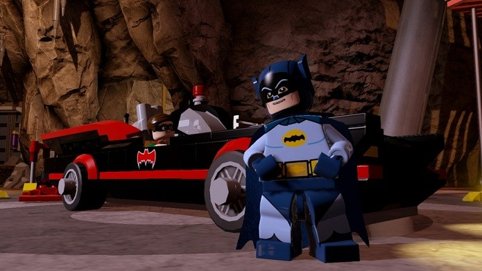 Até o Batman de Adam West aparece no jogo (Foto: Divulgação)