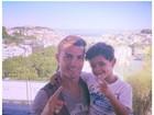 Cristiano Ronaldo festeja dia das crianças com o filho