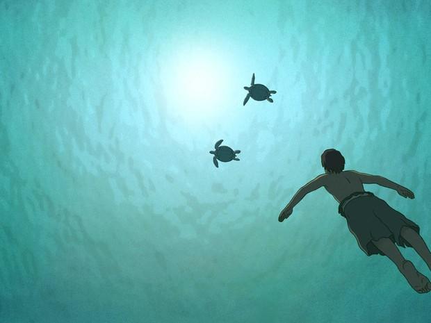 A Tartaruga Vermelha, de Michael Dudok de Wit (Foto: Reprodução/A Tartaruga Vermelha)