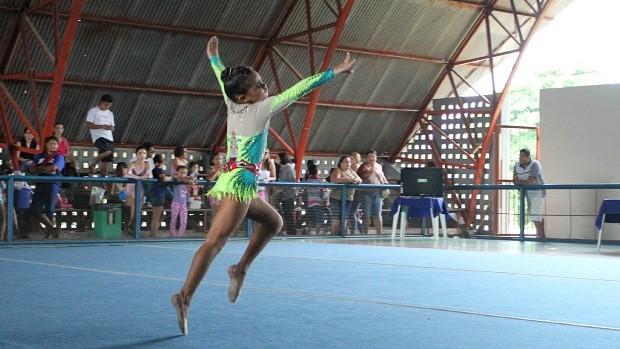Ginástica Manaus Torneio de Novos Talentos (Foto: Alírio Lucas)