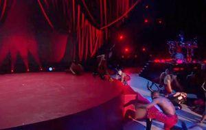 Madonna leva tombo em apresentação no BRIT Awards