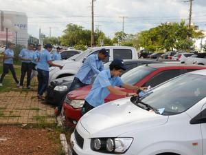 Motorista poderá permanecer por até quatro horas na zona verde (Foto: Valério Zelaya/ Prefeitura de Palmas)