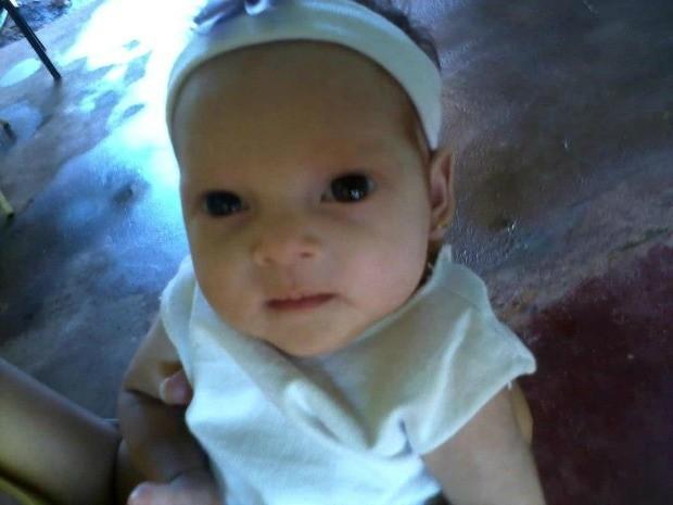 Isabella Barba, com três meses. (Foto: Arquivo pessoal/Divulgação)