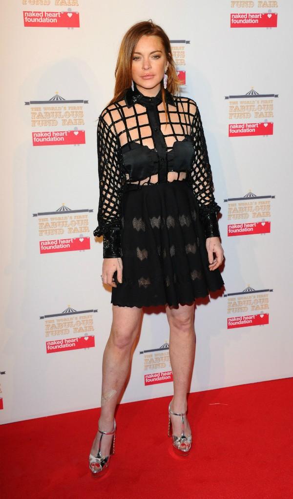 Lindsay Lohan tem lugar cativo em clínicas de reabilitação (Foto: Getty Images)
