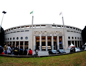 CorinthiansxSantos pacaembu (Foto: Marcos Ribolli / Globoesporte.com)