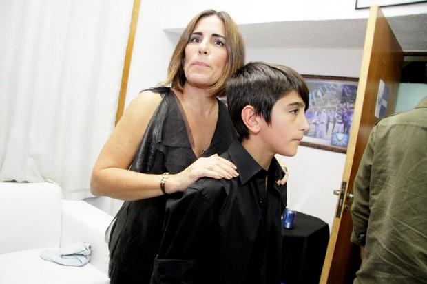 Glória Pires e Bento Morais  (Foto: Marcos Ferreira/ Ego )