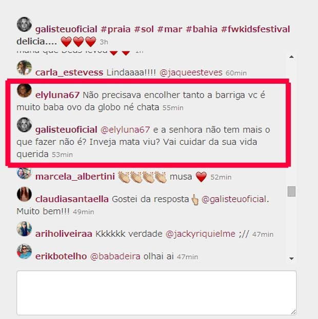 Adriane Galisteu responde (Foto: Instagram/ Reprodução)