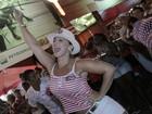 Santa tapioca! Vivi Araújo revela segredo de boa forma no carnaval