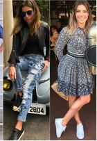 Daniella Cicarelli mostra como usar looks estilosos com tênis confortável