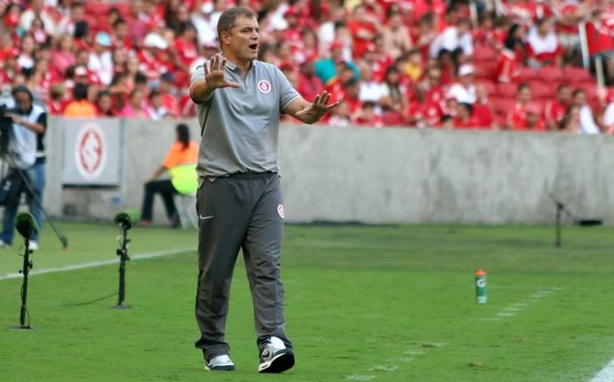 Diego Aguirre técnico Inter Internacional Brasil de Pelotas (Foto: Diego Guichard / GloboEsporte.com)