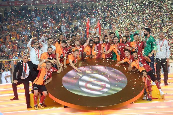Galatasaray campeão Copa da Turquia (Foto: Reprodução / Facebook)
