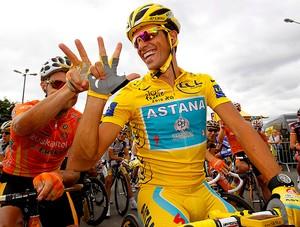Alberto Contador, Tour de France (Foto: EFE)