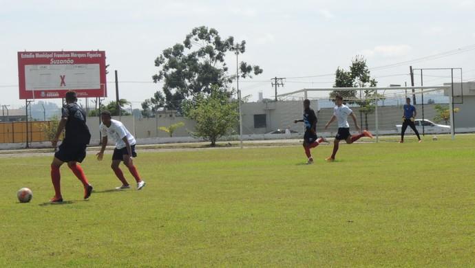 treino ecus sub-20 (Foto: Thiago Fidelix)
