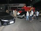 Grávida de 7 meses fica ferida após colisão entre veículos, em Manaus