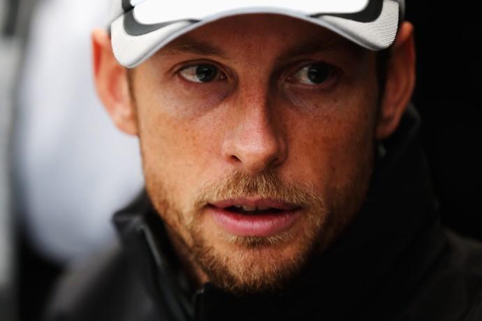 Jenson Button  nos testes de pré-temporada da Fórmula 1 (Foto: Getty Images)