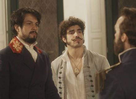 Francisco une forças com Dom Pedro