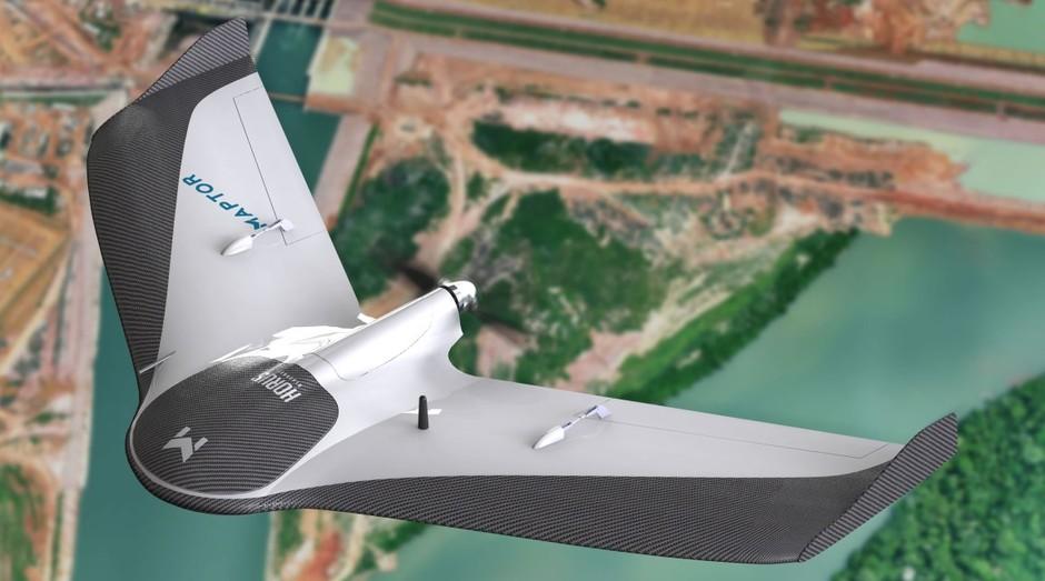 A Horus Aeronaves desenvolve drones para mapeamento em agricultura, topografia e mineração (Foto: Divulgação)