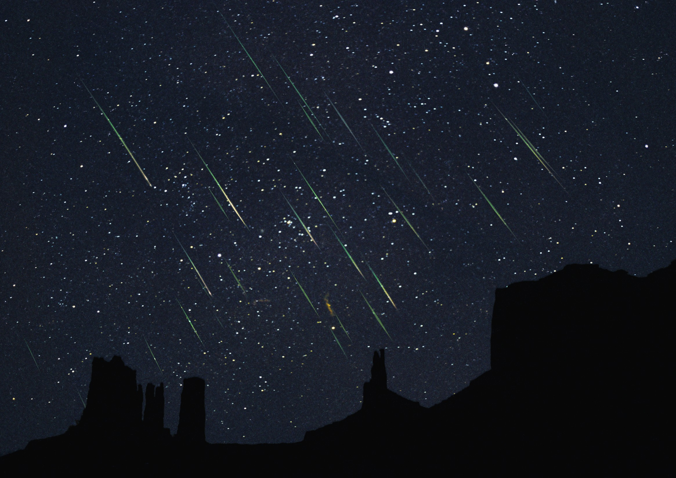 Chuva de meteoros poderá ser vista na madrugada de hoje (Foto: Reprodução)