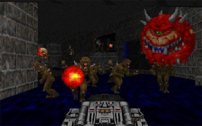 Doom é outra série de imenso sucesso devido a sua jogabilidade e criaturas grotescas (Foto: Divulgação/id Software)