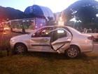 Dois carros se envolvem em batida na W3 Norte, em Brasília
