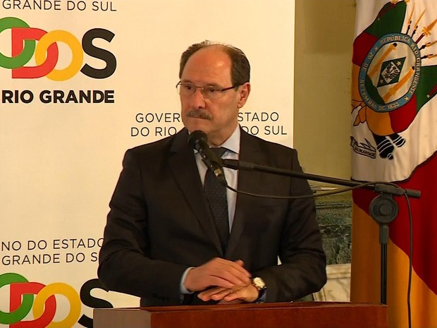 Sartori anuncia pacote de medidas contra crise no RS (Foto: Reprodução/RBS TV)