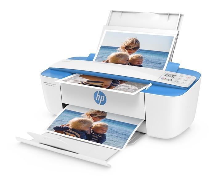 Impressora multifuncional da HP funciona com cartuchos de tinta (Foto: Divulgação/HP)