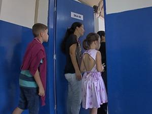 Reformas duraram um ano em unidade escolar de Guareí (Foto: Reprodução/TV TEM)