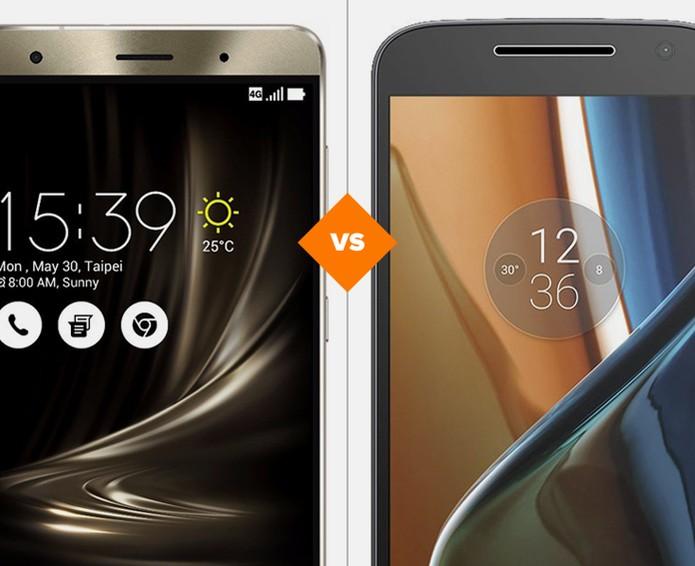 Zenfone 3 ou Moto G 4: comparativo traz celulares famosos no Brasil (Foto: Arte/TechTudo)