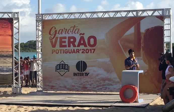 'Garota Verão' terá início no dia 4 de Fevereiro (Foto: Divulgação / Rota Inter TV)
