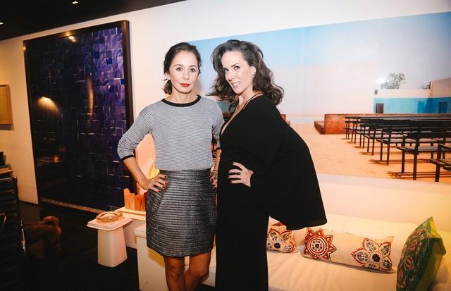 Bia Rosa e Ana Isabel Carvalho Pinto (Foto: André Ligeiro)