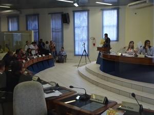 Projeto foi aprovado em primeira votação nesta terça (2); texto proíbe 'fichas-sujas' de ocuparem cargos de confiança na Prefeitura e Câmara de Boa Vista (Foto: Emily Costa/ G1 RR)