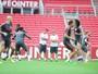 Com retorno de Anderson, Lisca comanda treino fechado no Beira-Rio