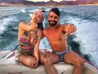 Laura Keller e Jorge Sousa têm dia vip em Las Vegas antes de casamento