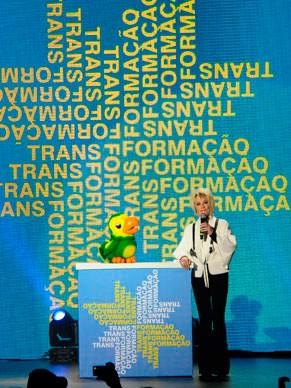 Ana Maria Braga e Louro José também estiveram no palco do show (Foto: Globo/Estevam Avelar)