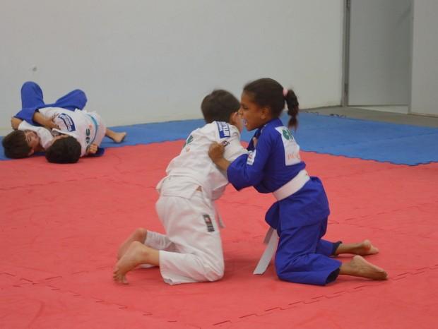 Judoca cega Piracicaba (Foto: Thomaz Fernandes/G1)