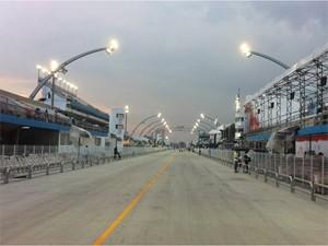 Vias ao redor do Anhembi serão interditadas durante desfile das campeãs (Foto: G1/ G1)