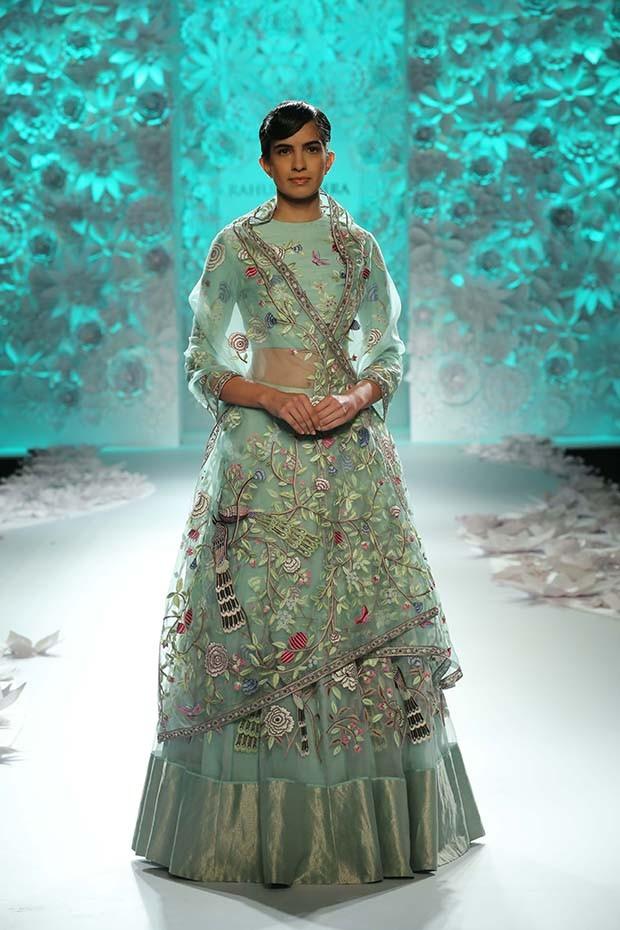 Rahul Mishra - India Couture week 2016   (Foto:  Monsoon Diaries Ramp Images)