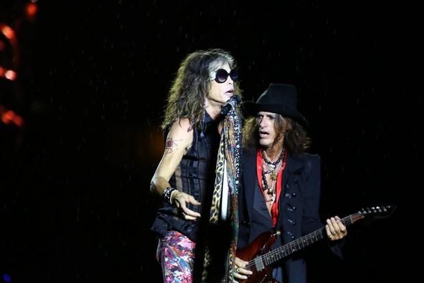 Aerosmith faz show no Rio (Foto: Marcello Sá Barretto / AgNews)