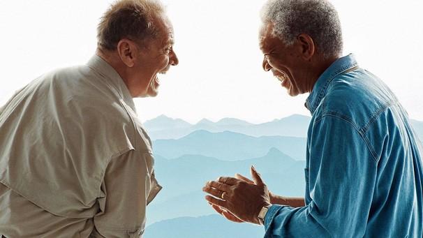 Rede Globo > filmes - Cine Fã-Clube: veja Morgan Freeman e Jack Nicholson  em 'Antes de Partir'