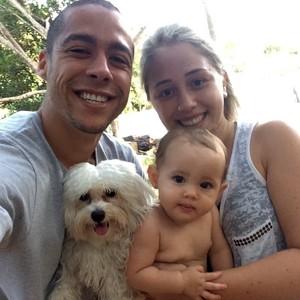 Ramon curte férias com a familia em Carbonita (MG) (Foto: Arquivo Pessoas)