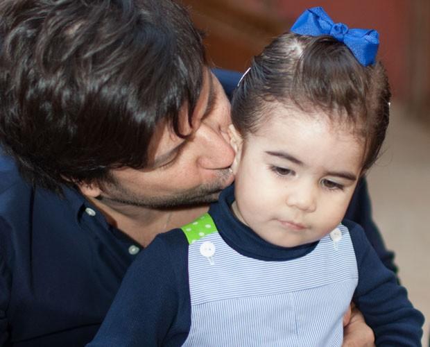 Paulo Ricardo escreve música para filha (Foto: Arquivo Pessoal)