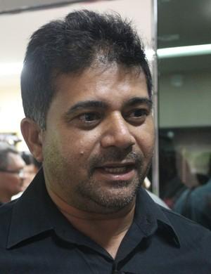 Batista Filho, presidente do Parnahyba (Foto: Ramiro Pena)