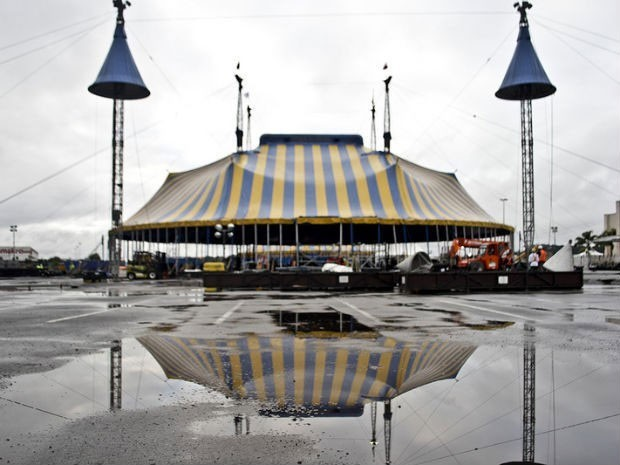 Tenda Cirque Du Soleil (Foto: MIBCine/Divulgação)
