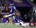 Vikings massacram os Giants, vão aos playoffs e têm final por título de divisão