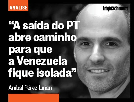 Aníbal Pérez-Liñan (Foto: ÉPOCA)