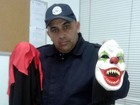 Guarda de Valinhos flagra adolescente com máscara de palhaço macabro