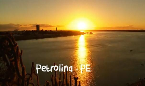 Pôr-do-sol em Petrolina (Foto: Divulgação Rede Globo)