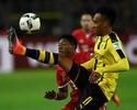 """Aubameyang promete à torcida do Dortmund: """"Nunca irei para o Bayern"""""""