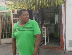 Epitácio Rodrigues, comerciante (Foto: Kleverton Amorim/Arquivo pessoal)