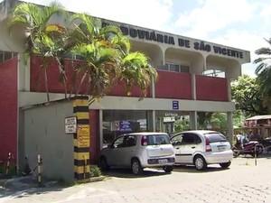 Rodoviária de São Vicente (Foto: Reprodução/TV Tribuna)